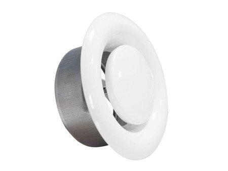 Anemostat metalowy wywiewny Ø250
