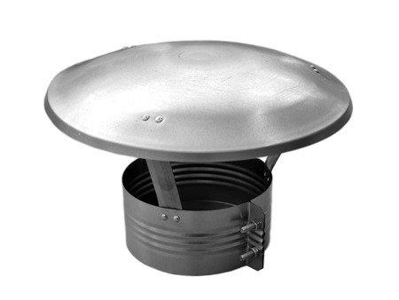 Daszek wywietrznikowy ocynkowany Ø250